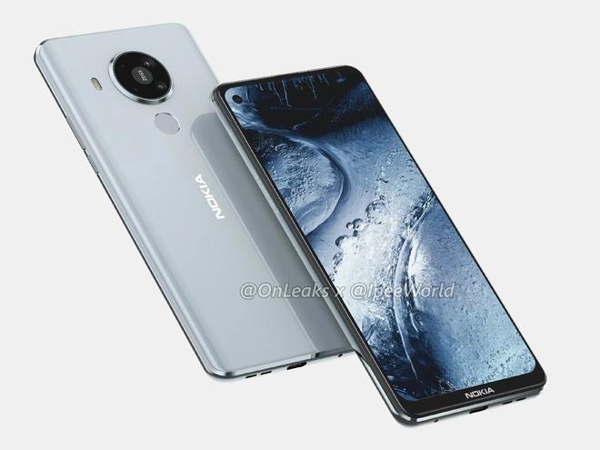 Rò rỉ hình ảnh render Nokia 7.3