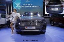 """Xe Volkswagen Touareg có bản đồ """"đường lưỡi bò"""" tại Triển lãm Ô tô Việt Nam 2019"""