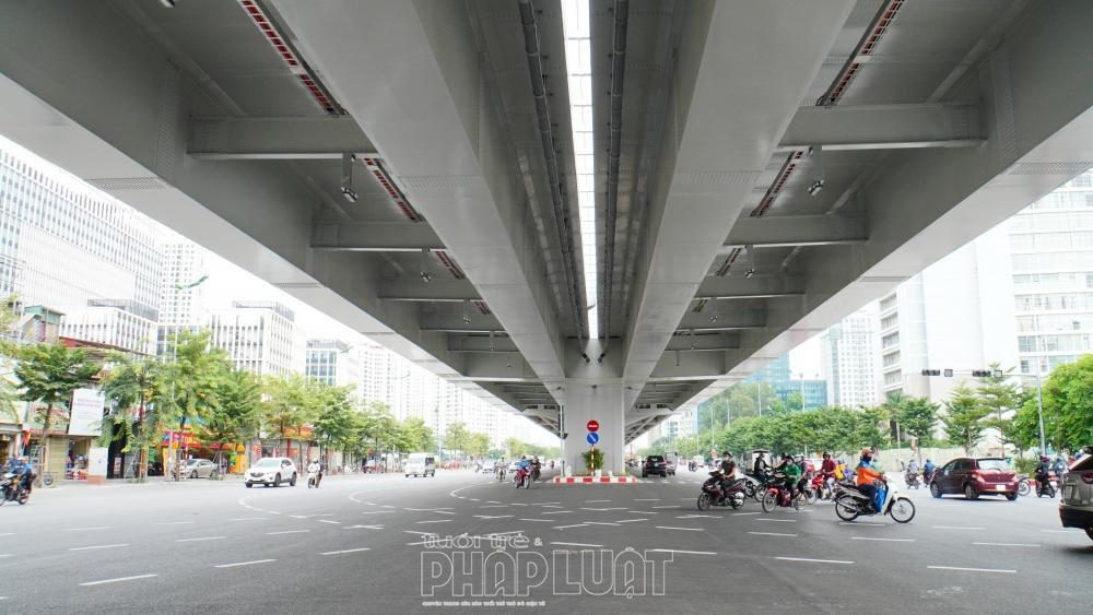 Đường Vành đai 3 trên cao đoạn Nam Thăng Long  hứa hẹn sẽ giải quyết tình trạng ùn tắc tại tuyến đường này