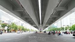 Xe khách, xe máy bị cấm lưu thông trên cầu cạn Mai Dịch - Nam Thăng Long