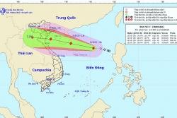 Áp thấp nhiệt đới đã mạnh lên thành bão số 7 Nangka