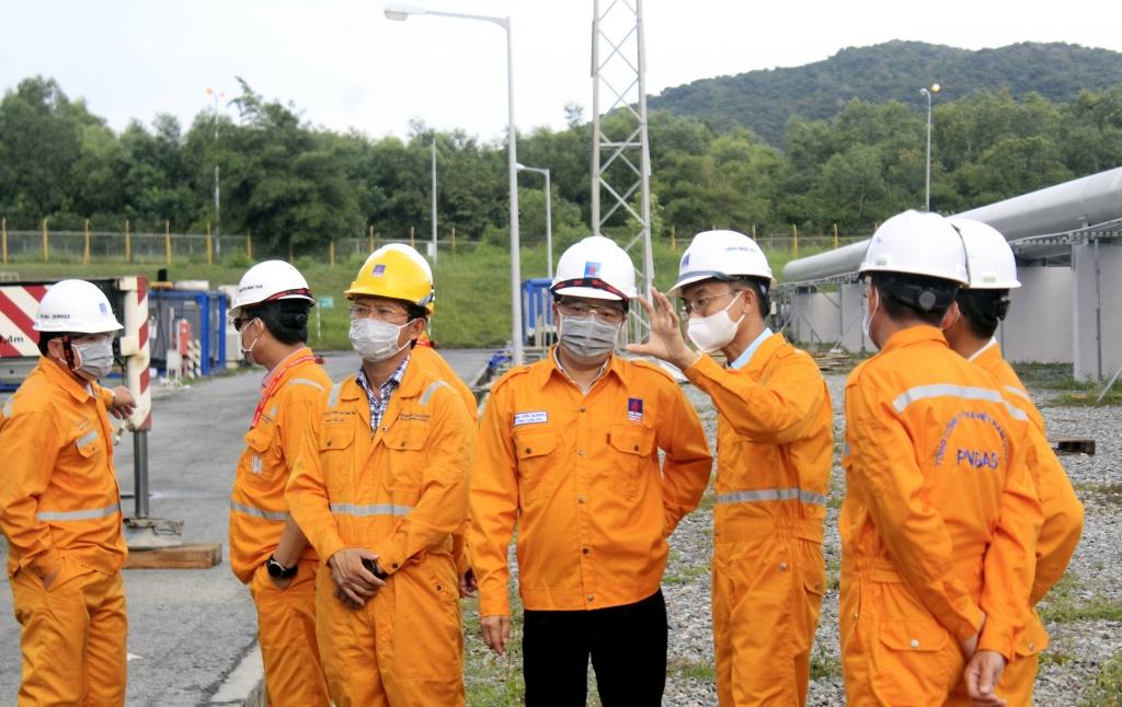 Phó TGĐ PV GAS và các lãnh đạo đơn vị đến kiểm tra trực tiếp quá trình TA GPP 2020