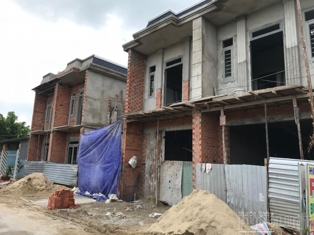 Long An: Nở rộ tình trạng xây nhà mini, bán vi bằng