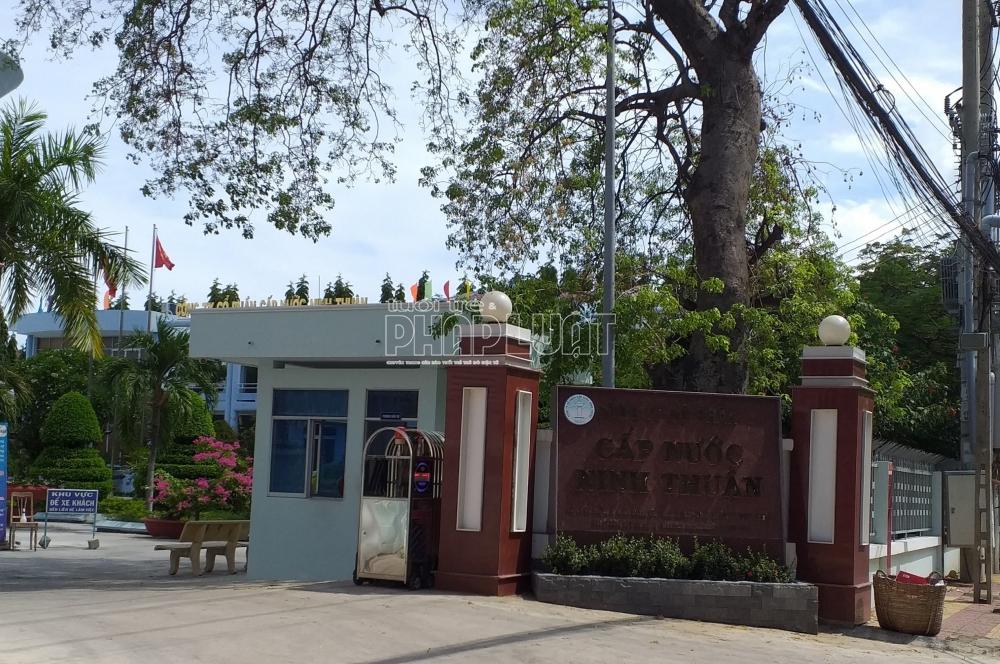 Tranh chấp hợp đồng cấp nước tại Ninh Thuận: Tòa cấp cao hủy án, trả hồ sơ xét xử lại