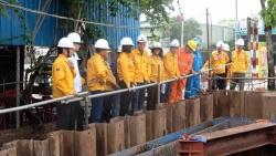 Tổng Giám đốc PV GAS kiểm tra tiến độ thi công giai đoạn 2 - Dự án Nam Côn Sơn 2