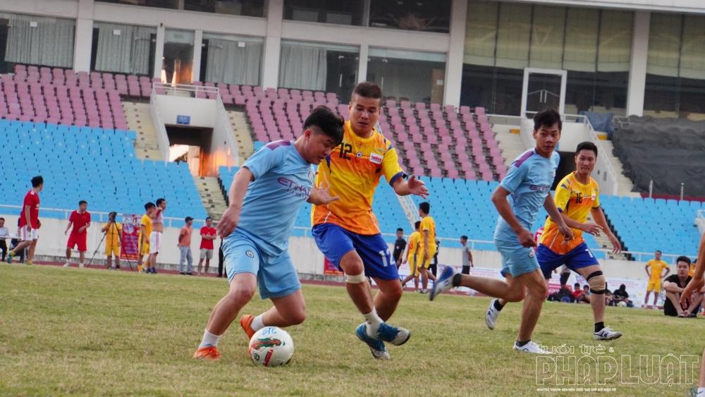 Thắng đậm 6 - 0, báo Tuổi trẻ Thủ đô khởi đầu thuận lợi tại Press Cup 2020