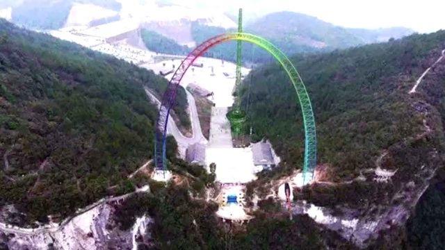 Xích đu lớn nhất thế giới tại Trung Quốc