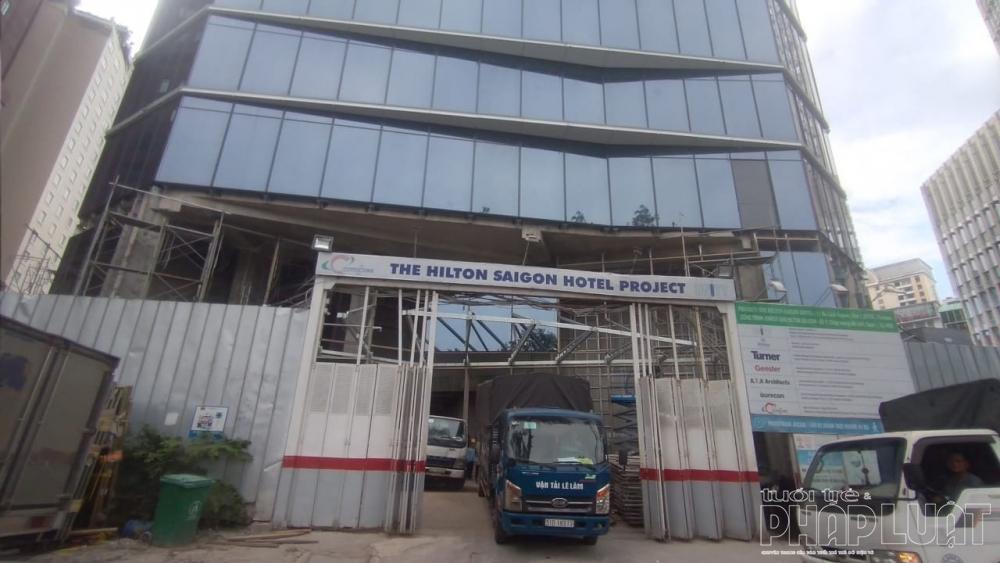 Dự án khách sạn chuẩn bị hoàn thiện vẫn chưa có giấy chứng nhận đầu tư