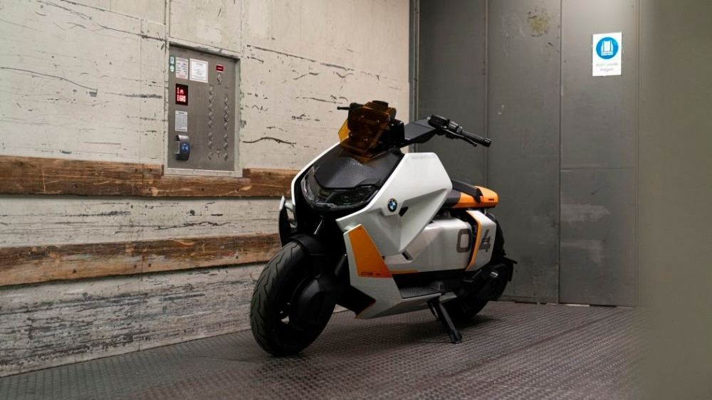 BMW mới đây đã giới thiệu một concept xe tay ga điện với tên gọi Definition CE 04