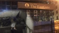Bình Dương: Rơi từ tầng 13 chung cư The Eastgate đang xây, một công nhân tử vong