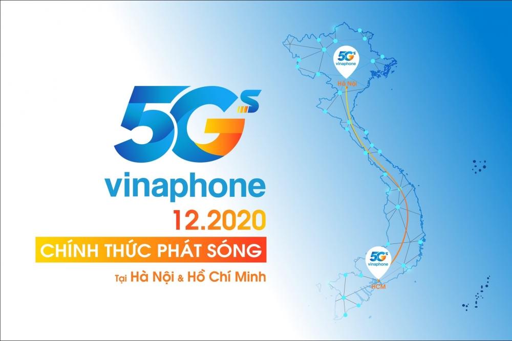 Vinaphone thử nghiệm thương mại mạng 5G tại Hà Nội và TP Hồ Chí Minh