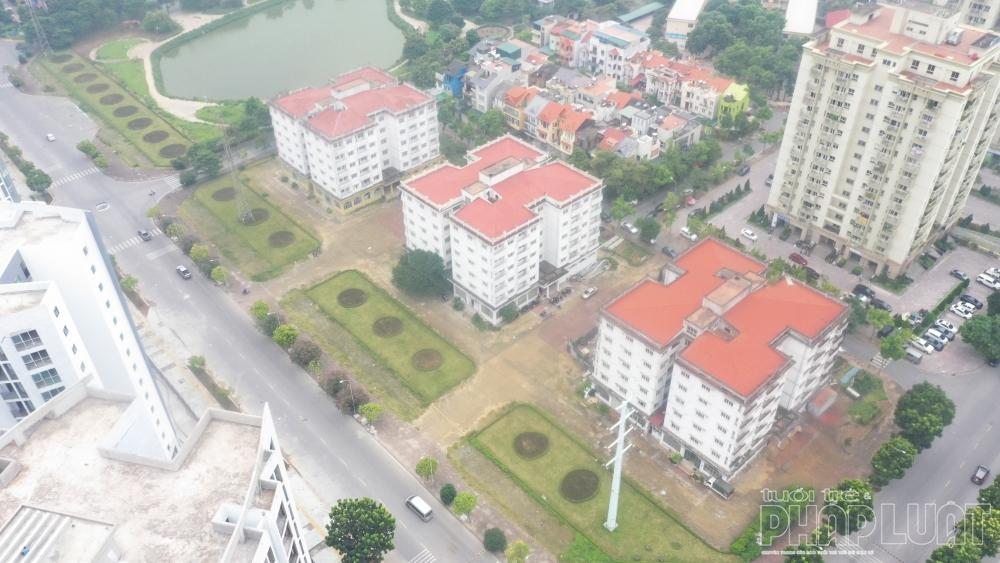 3 tòa nhà N3 - N4 - N5 thuộc Khu đô thị Sài Đồng đã bỏ hoang nhiều năm