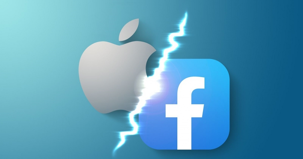 Căng thẳng giữa cuộc chiến của Facebook và Apple