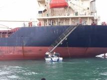 Quảng Bình cách ly 10 thuyền viên tàu Pacific Horse ghé qua cảng Hồng Kông