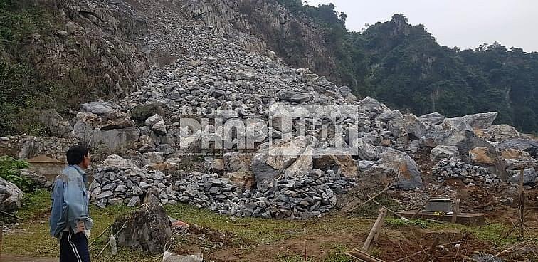 Quảng Bình: Hiểm họa từ mỏ đá Mai Thanh