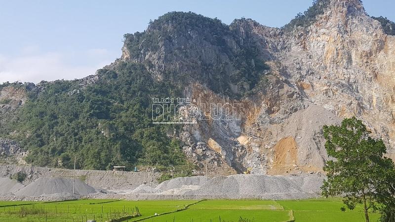 Người dân kiến nghị đóng cửa mỏ đá Mai Thanh.