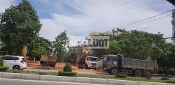 Quảng Bình: Công ty Hoàng Huy Toàn khai thác đất trái phép để thi công công trình