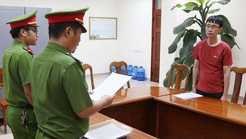 Bắt 1 cán bộ ngân hàng BIDV Quảng Bình lừa đảo chiếm đoạt 15 tỉ đồng