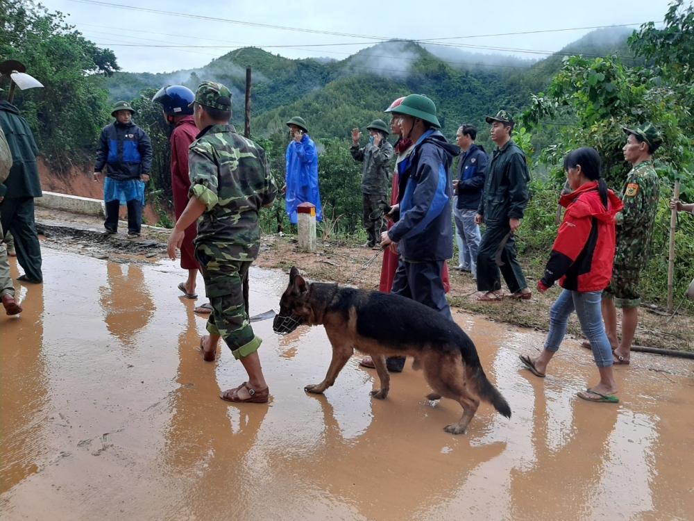 Nóng: Hơn 20 chiến sỹ nghi bị sạt lở vùi lấp ở Quảng Trị