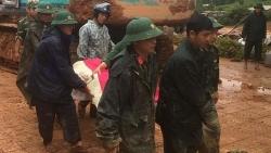 Tìm thấy thi thể thứ 5 trong vụ sạt lở đất vùi lấp 22 chiến sỹ Sư đoàn 337