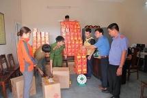 Hà Tĩnh: Đánh tàu ra Quảng Ninh mua hơn nửa tấn pháo về bán kiếm lời