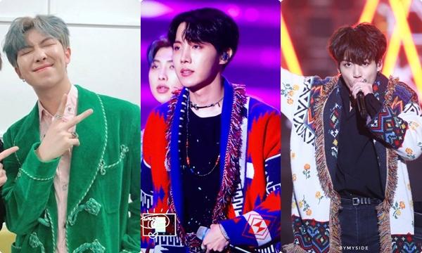 Choáng với giá trị đồ hiệu của BTS tại các lễ trao giải âm nhạc cuối năm
