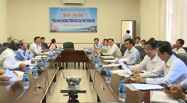 Bộ GD&ĐT tổ chức Hội nghị triển khai chương trình giáo dục phổ thông mới