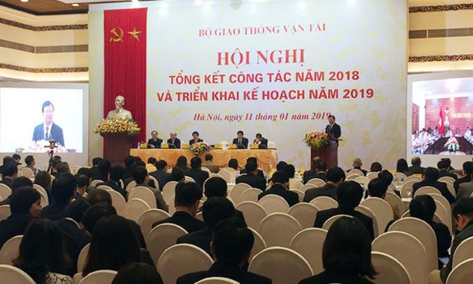 Hội nghị trực tuyến tổng kết năm 2018 triển khai kế hoạch 2019