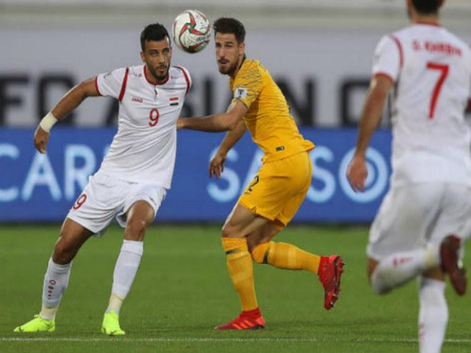Australia thắng nhọc Syria với tỷ số 3-2.