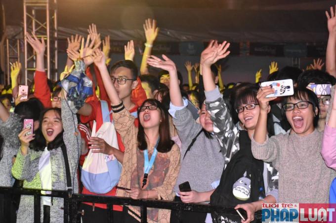 Sinh viên Thủ đô hào hứng với đêm nhạc hội International Student Festival 2018