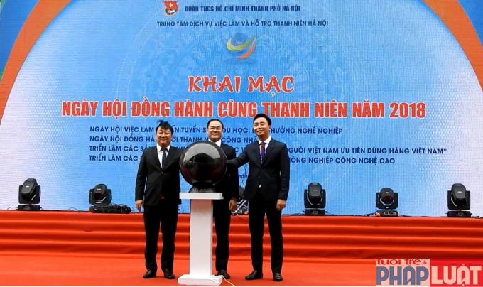 Ra mắt Trung tâm Dịch vụ việc làm và Hỗ trợ thanh niên Hà Nội
