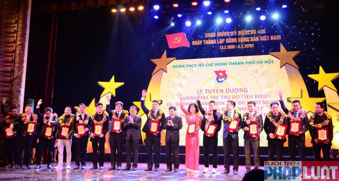 Thành đoàn Hà Nội tuyên dương 16 gương thanh niên khởi nghiệp Thủ đô tiêu biểu