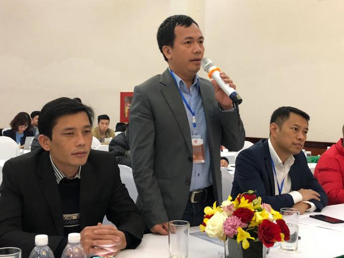 Nhà báo Lê Doãn Hưng – Trưởng Ban Điện tử báo Tuổi trẻ Thủ đô.