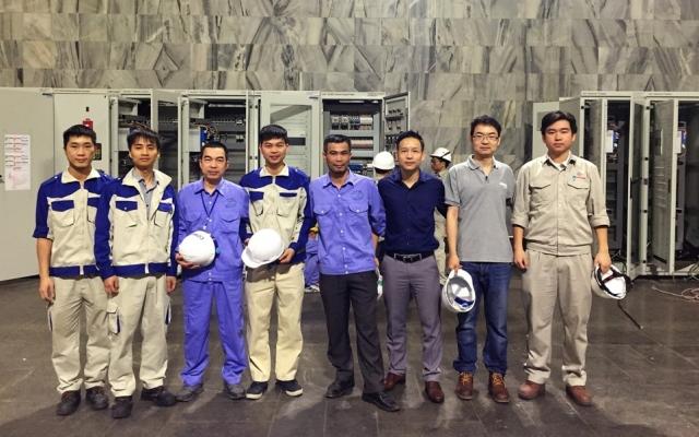 Những kỹ sư trẻ trên công trình thủy điện quốc gia