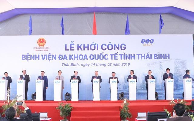 khoi cong benh vien da khoa quoc te 1000 giuong tai thai binh