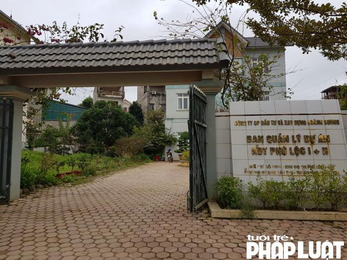 Dù nhiều lần đề nghị lên các cơ quan chức năng và Ban quản lý dự án Phú lộc I và II nhưng ông Chính vẫn không được cấp giấy CNQSD đất mà không hiểu nguyên nhân vì sao