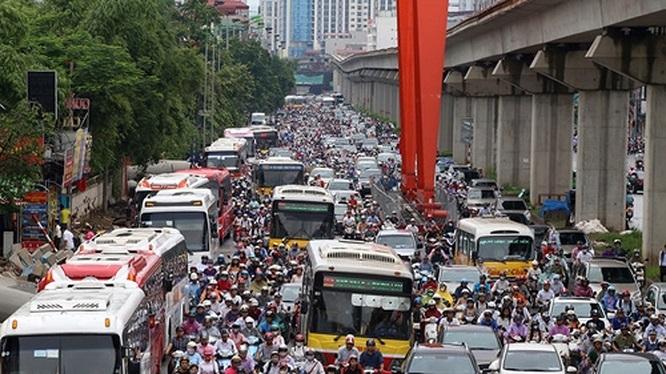 Hà Nội: Không để xảy ra các vụ ùn tắc giao thông kéo dài trên 30 phút