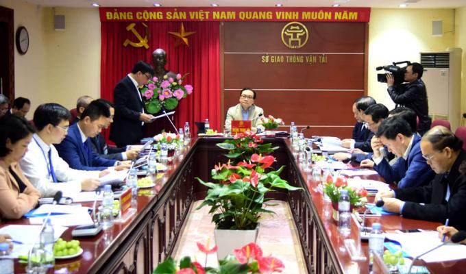 Bí thư Thành ủy Hà Nội yêu cầu Sở GTVT lên kế hoạch giảm ùn tắc giao thông