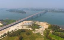 Quảng Nam: Cầu Cửa Đại vẻ đẹp nhìn từ trên cao
