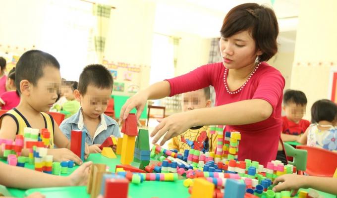 Hà Nội rà soát đội ngũ giáo viên mầm non