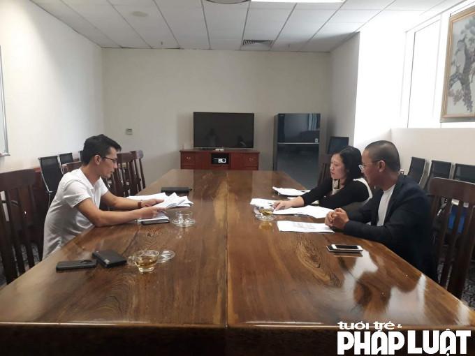 Lãnh đạo Công ty Hoàng Dương cương quyết không cung cấp bất cứ hồ sơ văn bản pháp lý nào liên quan tới dự án KĐT Phú Lộc I và II tại buổi làm việc với PV