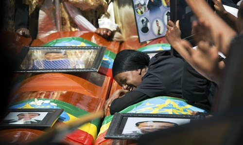 ethiopia to chuc le tang tap the cho cac nan nhan vu roi may bay