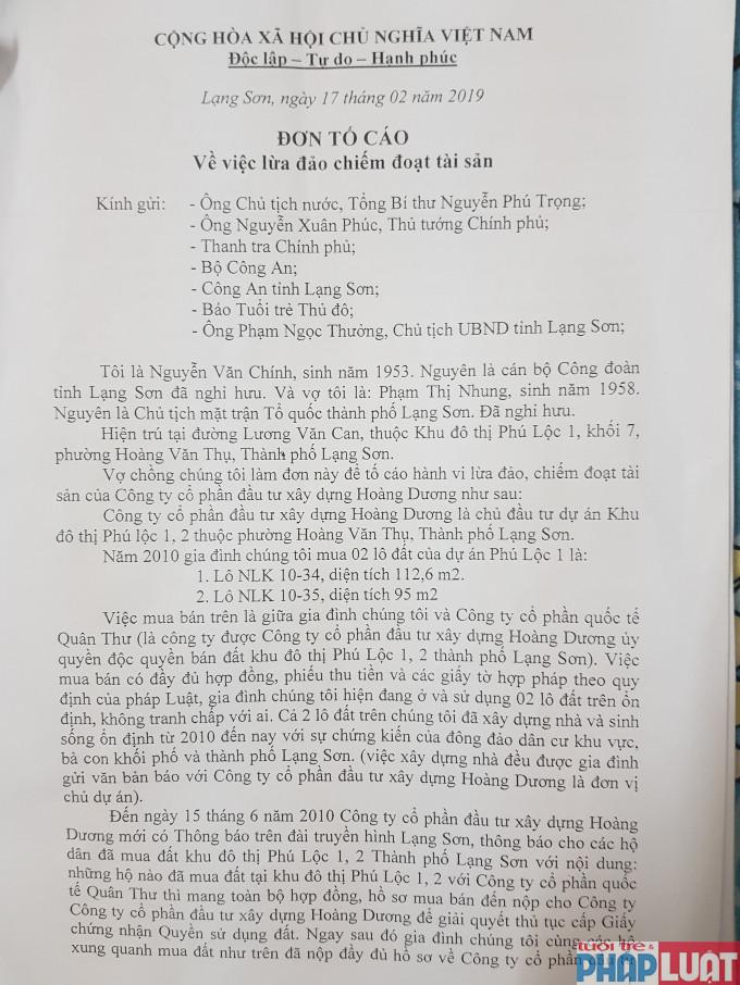Từ đơn tố cáo của người dân, hàng loạt sai phạm ở dự án KĐT Phú Lộc I và II đang được dần dần
