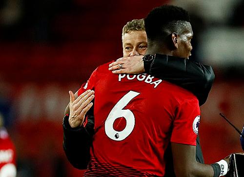 Pogba muốn Solskjaer làm HLV chính thức của Man Utd