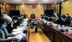 Thanh Hóa họp khẩn về tình hình phòng chống dịch Covid 19