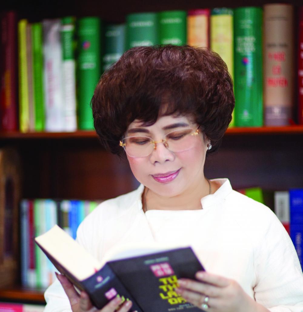 Bà Thái Hương - Anh hùng Lao động, nhà sáng lập và Chủ tịch Hội đồng Chiến lược Tập đoàn TH