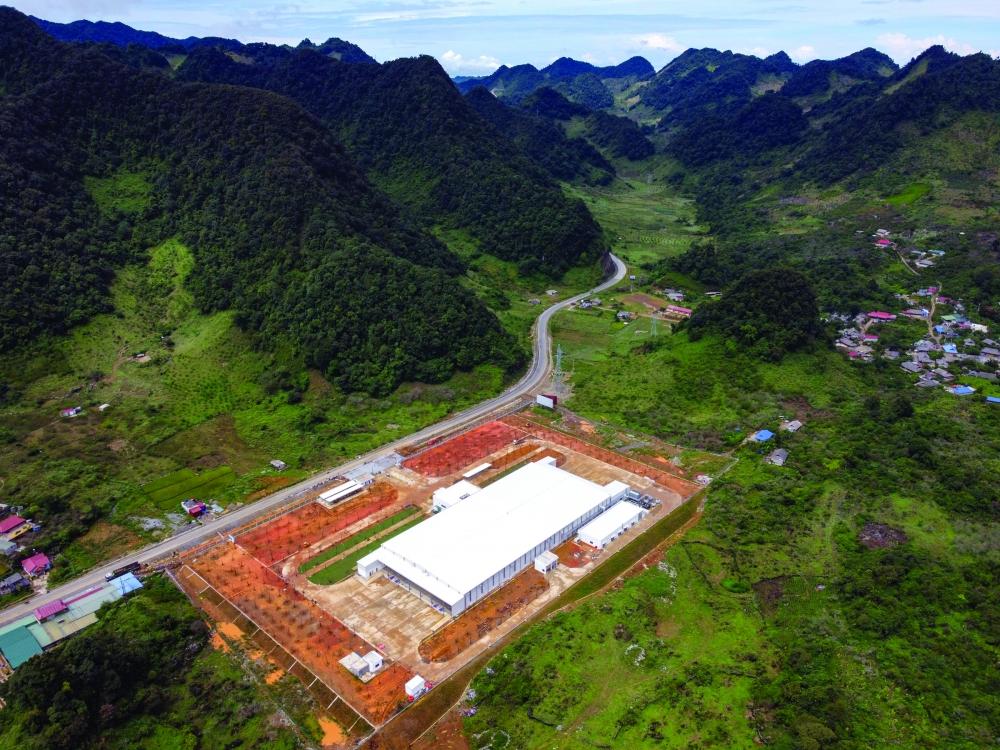 Nhà máy chế biến hoa quả tươi và thảo dược Vân Hồ, Sơn La, hoạt động từ tháng 9/2020