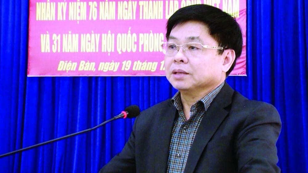Ông Đặng Hữu Lên, Bí thư Thị ủy Điện Bàn (tỉnh Quảng Nam)