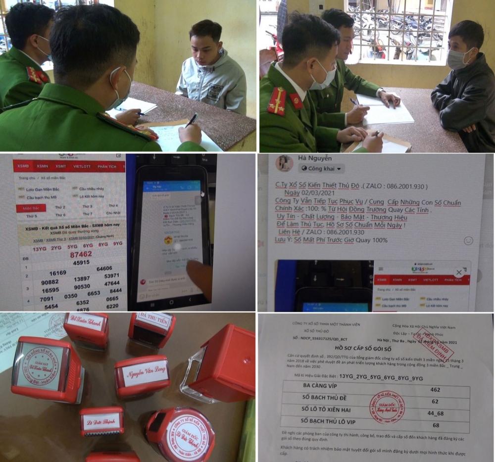 Phá chuyên án lừa đảo bán số lô, số đề tại Thanh Hóa