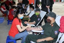 Công an Thanh Hóa trao giọt máu hồng - vì hạnh phúc Nhân dân